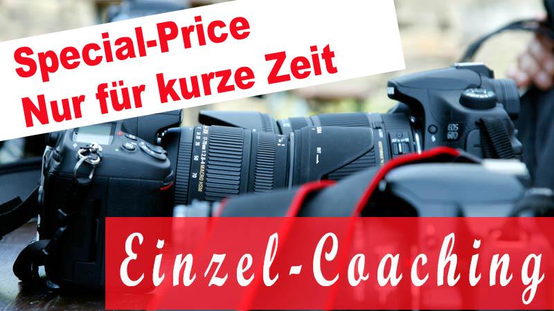 Fotokurs Kamerabedienung Einzel-Coaching